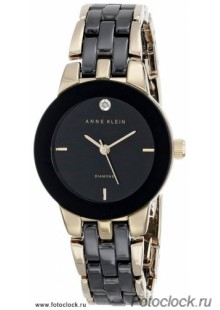 Женские наручные fashion часы Anne Klein 1610BKGB / 1610 BKGB