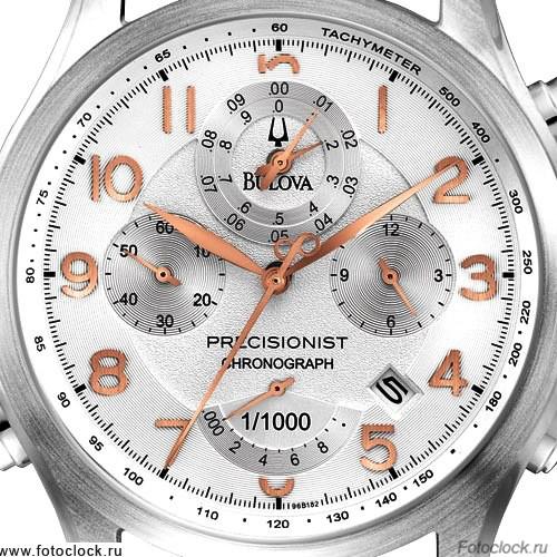 Наручные часы Bulova 96B182 Precisionist на браслете