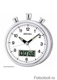 Кварцевый будильник Seiko QHE114S / QHE114SN