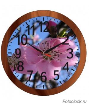 """Часы настенные Восток """"Цветы"""" ЧНЭМ-2"""