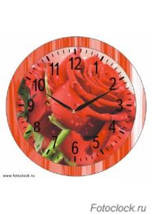 """Часы настенные Восток """"Цветы"""" ЧНЭМ-2-3"""