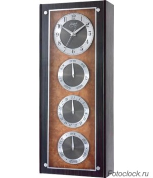 Настенные часы с датой Vostok H-1391-14 / Восток H-1391-14