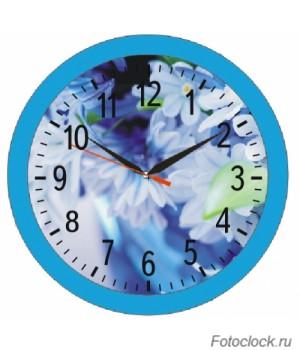 """Часы настенные Восток """"Цветы"""" ЧНЭМ-2-4"""