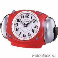 Кварцевый будильник Seiko QXK110RL-T / QXK110RL