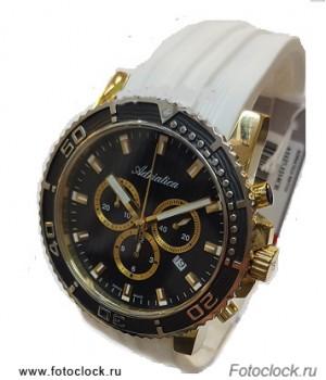 Швейцарские часы Adriatica A1127.1214CH белый ремешок