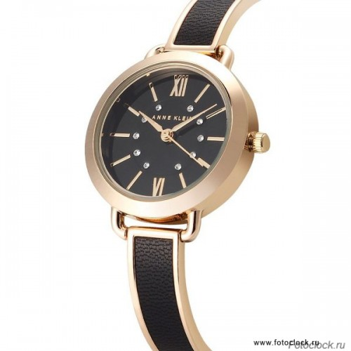 Женские наручные fashion часы Anne Klein 2436BKGB / 2436 BKGB
