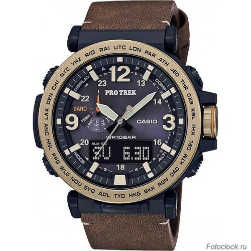 Ремешок для часов Casio PRG-600YL-5E (кожа) (10538485)