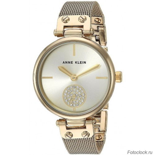 Женские наручные fashion часы Anne Klein 3000CHGB / 3000 CHGB