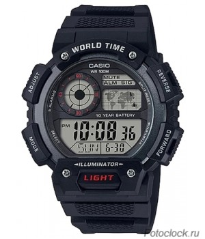Ремешок для часов Casio AE-1400WH-1A (10559534)