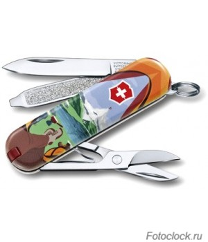 Нож перочинный Victorinox CLassic Call of Nature 0.6223.L1802