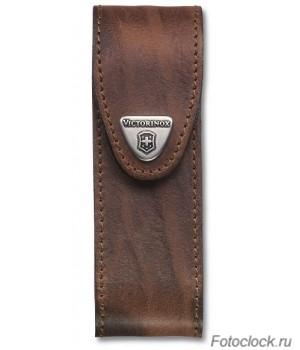 Чехол на ремень VICTORINOX Leather Belt Pouch для перочинных ножей 4.0547