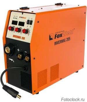 Сварочный полуавтомат FoxWeld InverMig 205