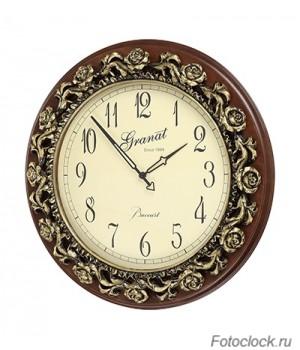 Большие настенные кварцевые часы Granat Baccart GB 16325