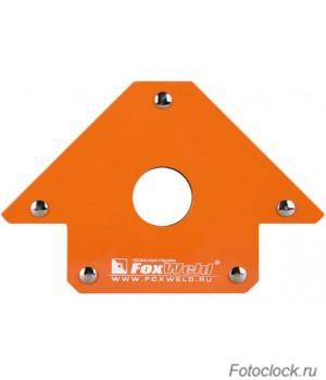 Угольник магнитный FoxWeld FIX-5 (45/90/135град, до 34кг)
