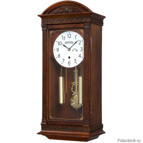 Настенные часы механические Vostok / Восток М-1241НС (день/ночь)