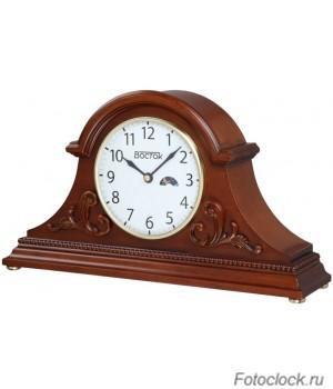 Каминные/настольные механические часы Vostok / Восток МТ-2279-1 (день/ночь)