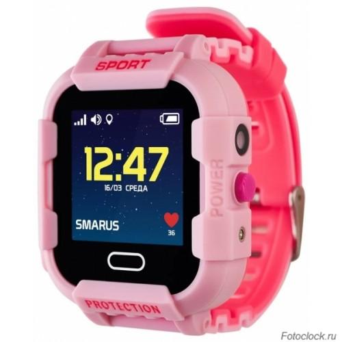 GPS часы SMARUS kids K6 розовые