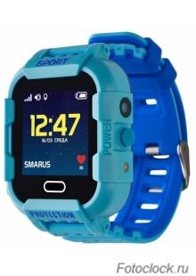 GPS часы SMARUS kids K6 синие