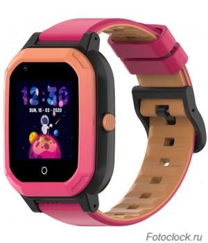 GPS часы SMARUS kids KW2 розовый (4G, GPS, виброзвонок, видеозвонок)
