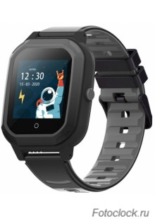 GPS часы SMARUS kids KW2 черный (4G, GPS, виброзвонок, видеозвонок)