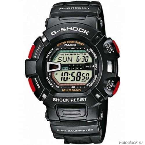 Ремешок для часов Casio G-9000-1V