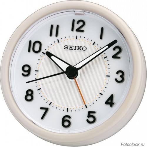 Кварцевый будильник Seiko QHE087WN / QHE087W