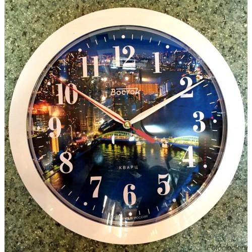 "Часы настенные Восток ""Архитектура"" ЧНЭМ-6-004"